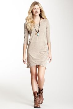 The James T-Shirt Dress by Free People on @HauteLook