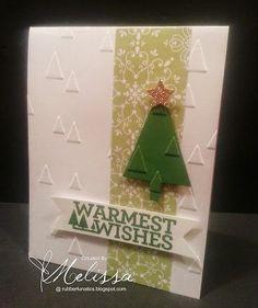 Stampin' Up! Christmas Bliss by Melissa Davies @ rubberfunatics