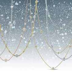 The weather outside may be frightful but our diamonds by the inch from Roberto Coin are absolutely delightful! Tax Free with Free Shipping at Jewelry Studio in Bozeman, Montana! www.BozemanJewelry.com
