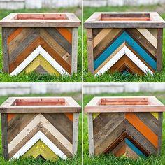 DIY Planter Box Out of Pallet Wood | Pallet Furniture DIY