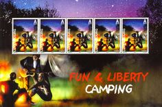 Camping - Luxembourg (2010) #stamps http://www.wopa-stamps.com/index.php?controller=country&action=stampRelatedIssue&id=1900