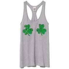 Make this St. Pattys Day bling tank your good luck charm. Must have tees only by Victorias Secret PINK. Easy, relaxed fitBling graphicsClassic cotton jersey bl…