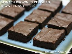 Spinach Brownies Revisited Now It's Nut-Free