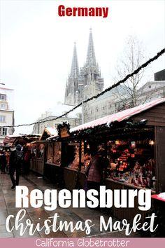 Regensburg's Christkindlmarkt – Best Europe Destinations Christmas Markets Germany, Christmas Markets Europe, Christmas Travel, Holiday Travel, Europe Destinations, Europe Travel Guide, Travel Abroad, Travel Tips, Travel Packing