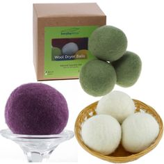 Love these dryer balls - no more dryer sheets with these! #cottonbabies