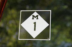 Woodward Ave. Highway 1 sticker