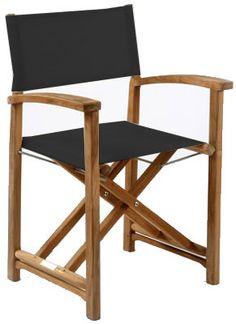 Kingsley-Bate Capri Director's Chair - Black