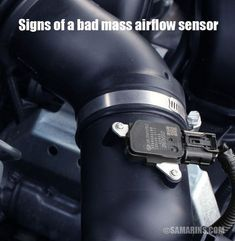 Signs Of A Bad Mass Airflow Sensor In A Car Car Mechanic Automotive Mechanic Auto Repair