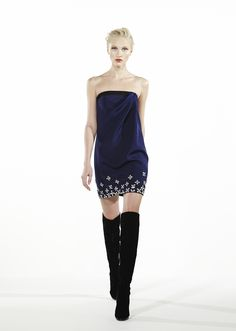 Azzaro Fall Winter 2013-2014: OURIEL dress #azzaro