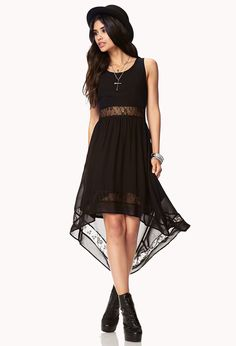 Romantic High-Low Dress | FOREVER21