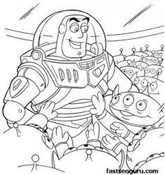 Weihnachtsmalvorlagen, Toy Story and Malvorlagen on Pinterest