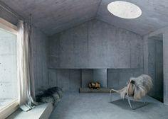 Refugi Lieptgas is a fascinating concrete cabin designed by German architecture studio Nickisch Sano Walder Architekten. The concrete cabin .