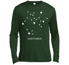 Sagittarius Zodiac Constellation Sign T-Shirt