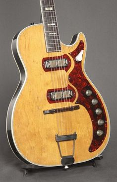 1961 Harmony Stratotone Jupiter - I own me one of these here