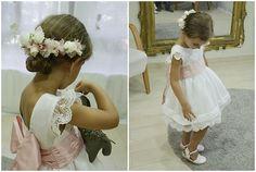 Probando su #vestidodearras y #minitiara Todo de #LeonorySofía