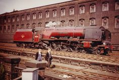 LMS Coronation Class 46243 City of Lancaster Steam Trains Uk, Steam Railway, Bonde, Old Trains, British Rail, Train Journey, Steam Engine, Steam Locomotive, Train Tracks