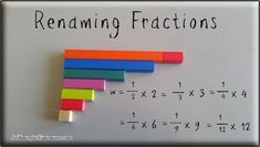 Learning Fractions with Cuisenaire Rods