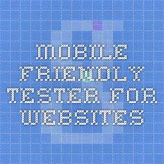 mobile friendly tester for websites