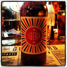 Jamie's Italian Liberta Craft Lager - 5% ABV - brewed by Freedom Brewery