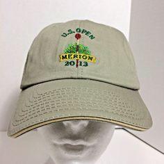 USGA Member Men Baseball Cap 2013 US Open MERION Golf Adjustable Hat NEW   USGA   ca4710d28144