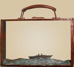 FOLON Partir  Date: 2002 Kamakura, Art Object, Amazon Art, Cool Art, Nice Art, Art Boards, Photo Art, Contemporary, Artwork