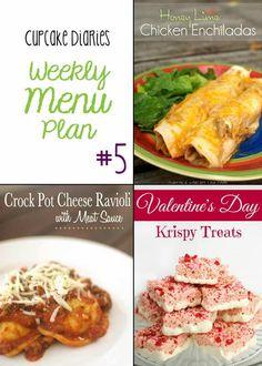 Cupcake Diaries Weekly Menu Plan #5 - A week of meal ideas all in one post!   cupcakediariesblog.com
