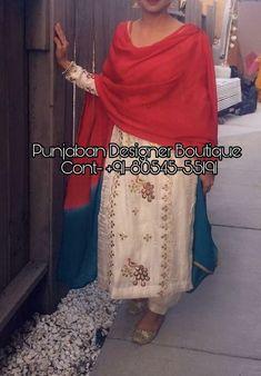 Punjabi Suit Boutique, Punjabi Suits Designer Boutique, Boutique Suits, Punjabi Suit For Ladies, Punjabi Suits Party Wear, Embroidery Suits Punjabi, Embroidery Suits Design, Embroidery Dress, Embroidery Patterns