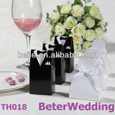 Aliexpress.com : Buy Bride and Groom Favor Boxes TH018 00(120pcs, 60pair)use as Wedding Gift and Wedding Souvenir wholesale from Reliable Bride and Groom suppliers on Shanghai Beter Gifts Co., Ltd.