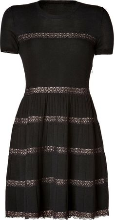 RED Valentino Wool Dress on shopstyle.com