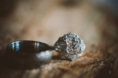 Gorgeous vintage engagement ring!  photo by Chantel Marie, see more: http://theeverylastdetail.com/vintage-eclectic-california-wedding/
