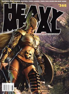 Post with 186 votes and 7617 views. Shared by Heavy Metal Magazine Covers & Artwork Fille Heavy Metal, Arte Heavy Metal, Heavy Metal Movie, Heavy Metal Girl, Heavy Metal Rock, Fantasy Women, Fantasy Girl, Dark Fantasy, Metal Magazine