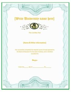 The Certificate Will Enable A Person To Get The Gift Of Their Own