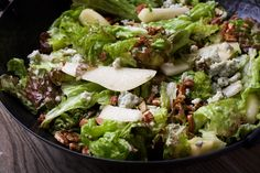 This winter salad is an ideal starter for just about any roast or stew you might whip up on a chilly night, and although it is simple enough to be a weeknight staple, it is also beautifully suited for a holiday table.