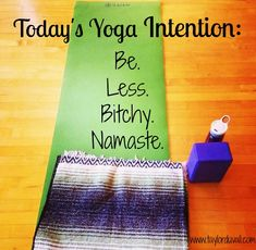 Sometimes that's the best you can do #setanintention