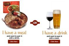 We've developed a #wine and #beer pairing #app to help you choose the best compliment to our restaurant quality authentic #IndianFood. Find the #perfectpairing for your next #healthy frozen meal by clicking below. #IndianFoodandWine