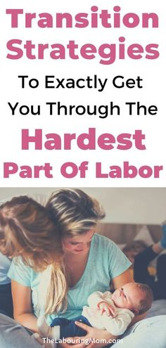 Are you wondering if you can survive labor? Labor is made up of various phases. Here are proven strategies and tips to get you through the transition part of labor and help you give birth naturally.  #naturalbirth #firsttimeMom #pregnancy #birth #labor #delivery #givingbirth All About Pregnancy, Hospital Birth, Hard Part, Natural Birth, Pregnant Mom, Pain Management, Doula, Newborns, Bump