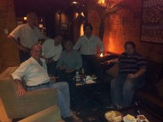 Encontro de amigos na  Epicur Cigar Wine Club SP