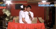 The contestants are getting a handjob while they're singing. | There's Apparently A Japanese Game Show Where Contestants Get Handjobs While Singing Karaoke
