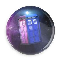 Tardis Pin Back Button Button Art, Pin Button, Tardis, Magnets, Buttons, Jacket Patches, Gd, Badges, Backpack