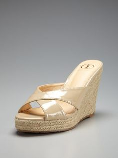 I have almost bought these shoes like 100 times!!! -- Bella Espadrille Wedge Sandal by Kelsi Dagger on Gilt.com