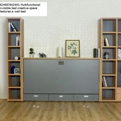 524987802901 Multifunctional Invisible Bed Creative Space Features A Wall  Bed. Space Saving FurnitureWall ...