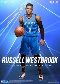 1167e8e4568a Motion Russell Westbrook by ENTERBAY Official which invites you to  experience the innovation of our officially licenced NBA   movie  collectible figurines.
