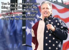 Today is Jon Stewart's 50th birthday.  It should be a national holiday.