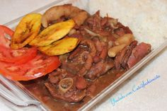 HOW - TO MAKE REAL  JAMAICAN STEW PEA'S WITH OXTAIL & SMOKEY TURKEY LEG ...