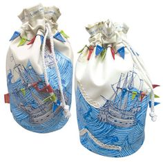 This beautiful draw string wash bag is the perfect item for holidays, camping or generally putting your cosmetics and bits in. It has lots of room for your items and a stunning design of boats, the sea and bunting. Disaster Designs, Wash Bags, Bunting, Breeze, Bucket Bag, Women Wear, Style Inspiration, Sea, Purses