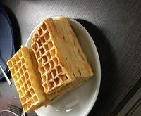 Rezept Belgische Waffeln mit Vanille von snolli - Rezept der Kategorie Backen süß