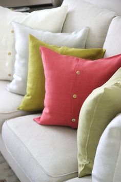 Linen Pillow Cases - Natural White in 3 sizes - Everyday Occasions
