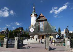 Sanktuarium na Krzeptówkach. Fot. Nocowanie.pl - Sanktuarium Matki Bożej Fatimskiej - www.NOCOWANIE.pl