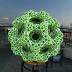 THE BEADED MOLECULES 串珠分子模型的美妙世界