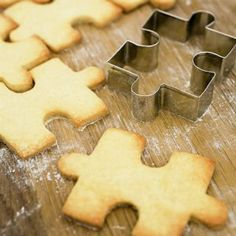 Jigsaw Puzzle Cookie Cutters